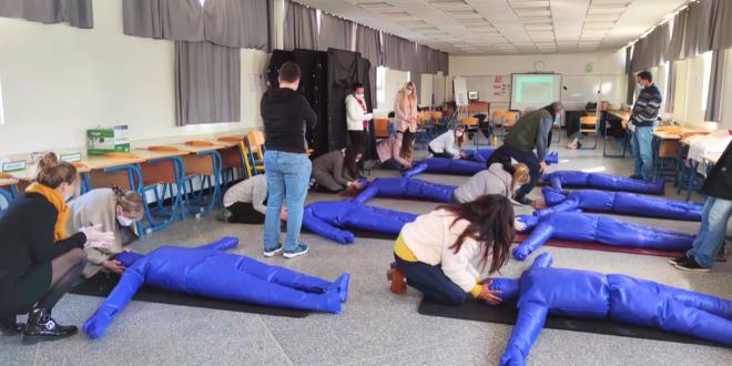 FOCUS : le secourisme au Lycée Lyautey