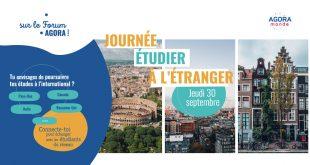 Journée _Étudier à l'étranger_ sur AGORA Monde
